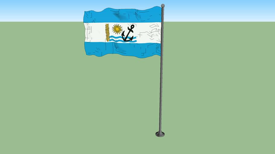 Flag of Rio Negro Department