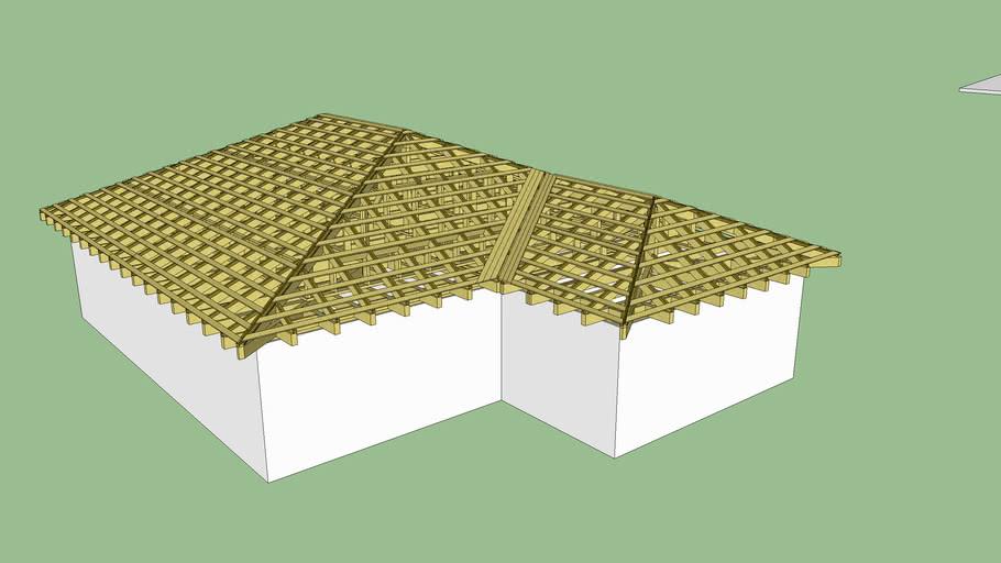 Крыша Вальмовая