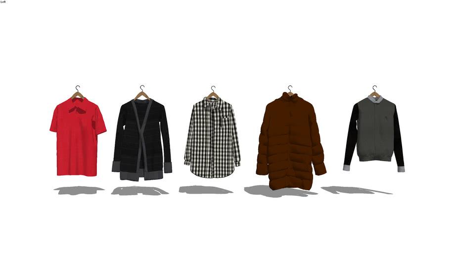 Hanging Shirts/Jackets