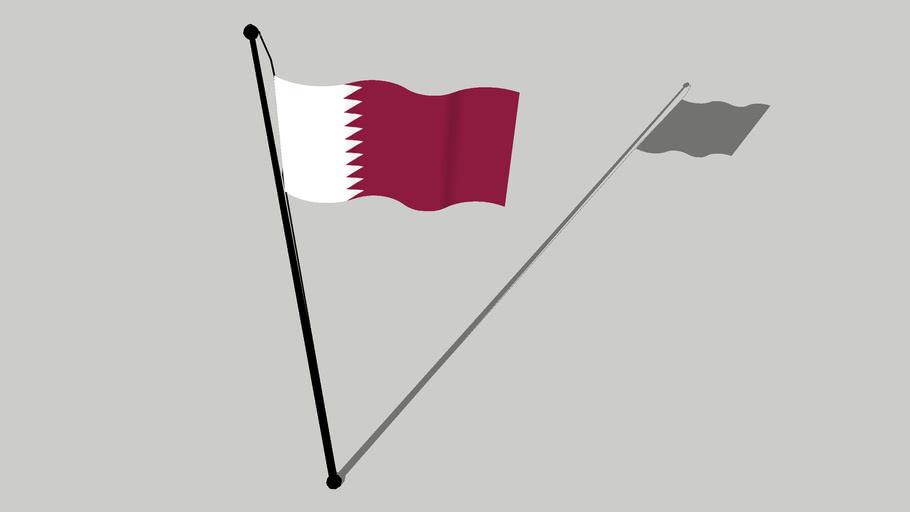 Flag of Qatar - علم قطر