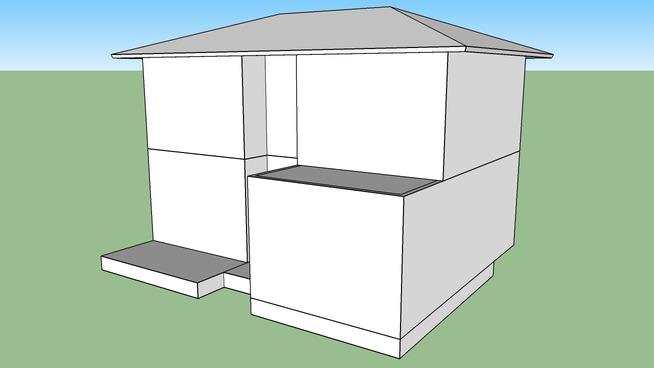 GoogleSketchUpの住宅