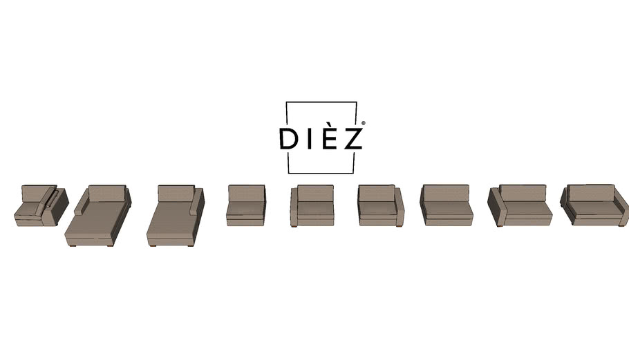 DIEZ Mini Marques elementen