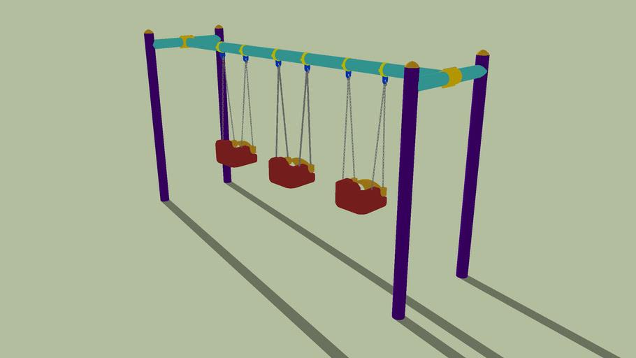 Triple swing