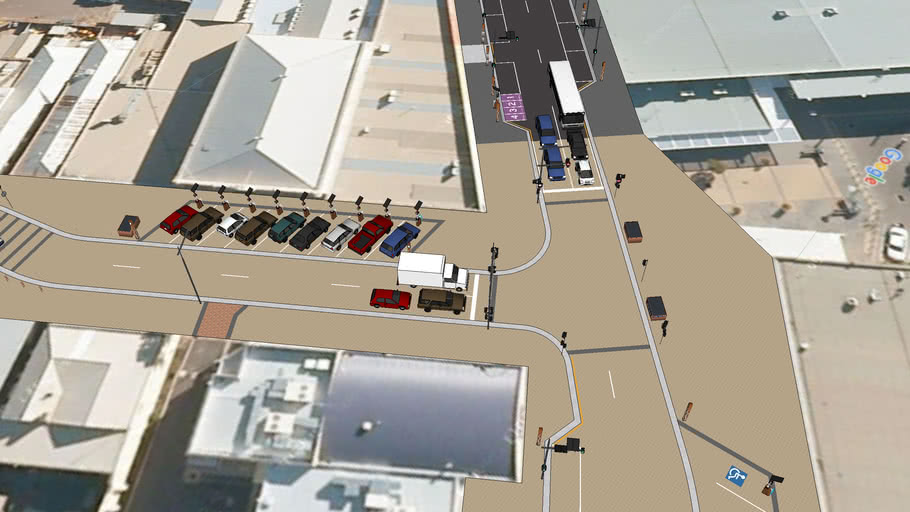 Port Augusta CBD Revitalisation - Road Plan