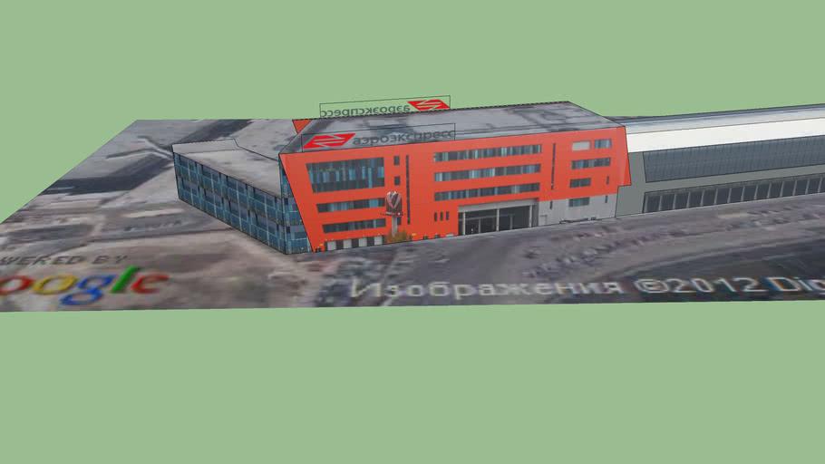 Sheremetyevo airport terminal Aeroexpress
