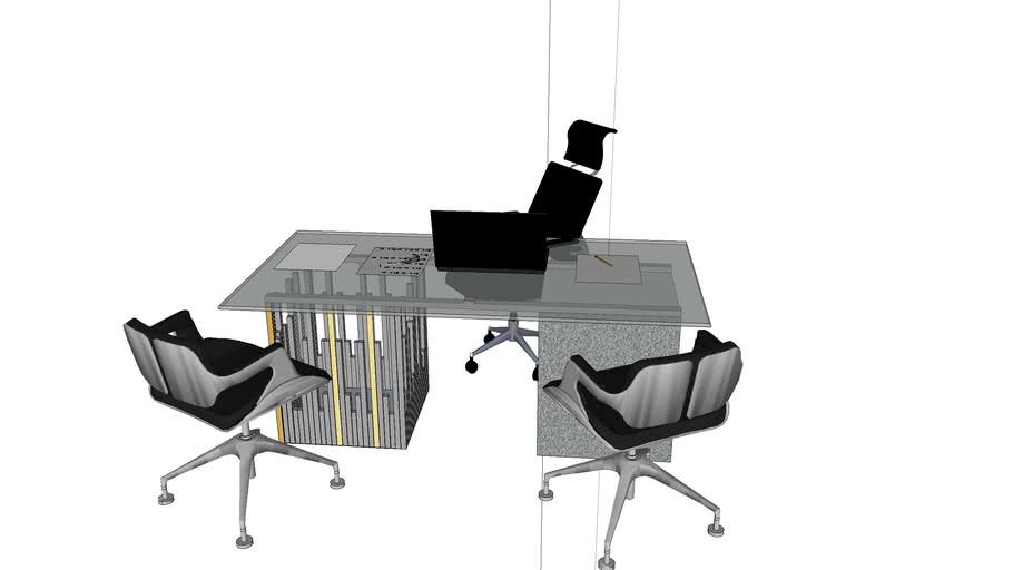 CEO boss desk