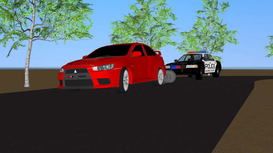 Need For Speed Hot Pursuit Gameplay Scene 3d Warehouse