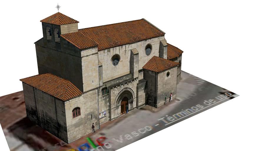 Antigua Iglesia de San Nicolás. Miranda de Ebro.