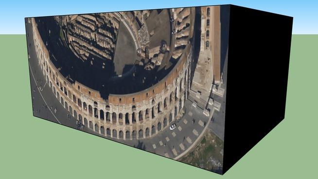 Gebäude in Rom, Italien