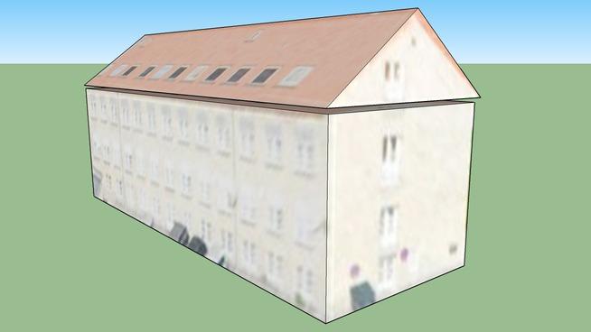 Gebäude in Frederiksberg Kommune, Dänemark