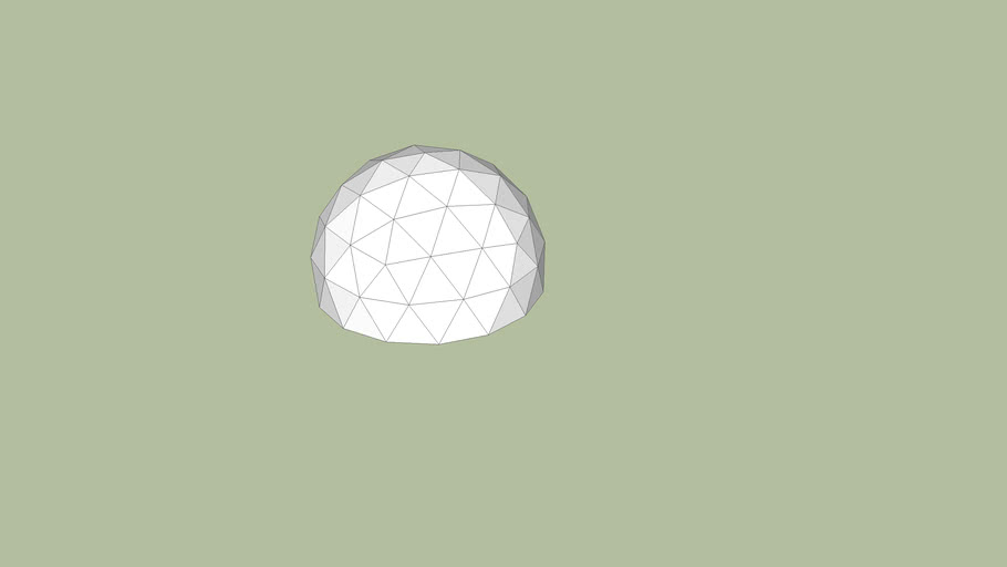 Eco-Infinity Group 20ft Geodesic Dome