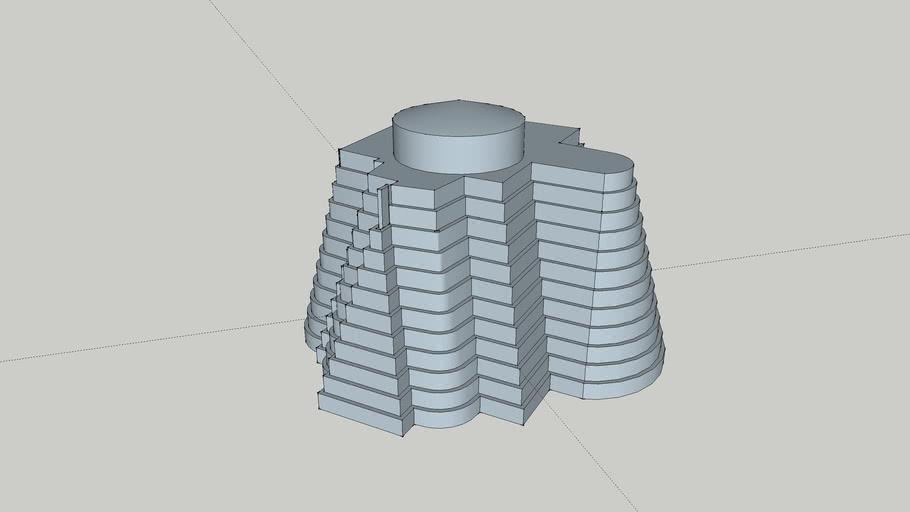 Loft towers