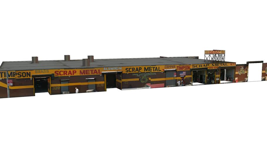 677 Timpson Place Scrape Metal building