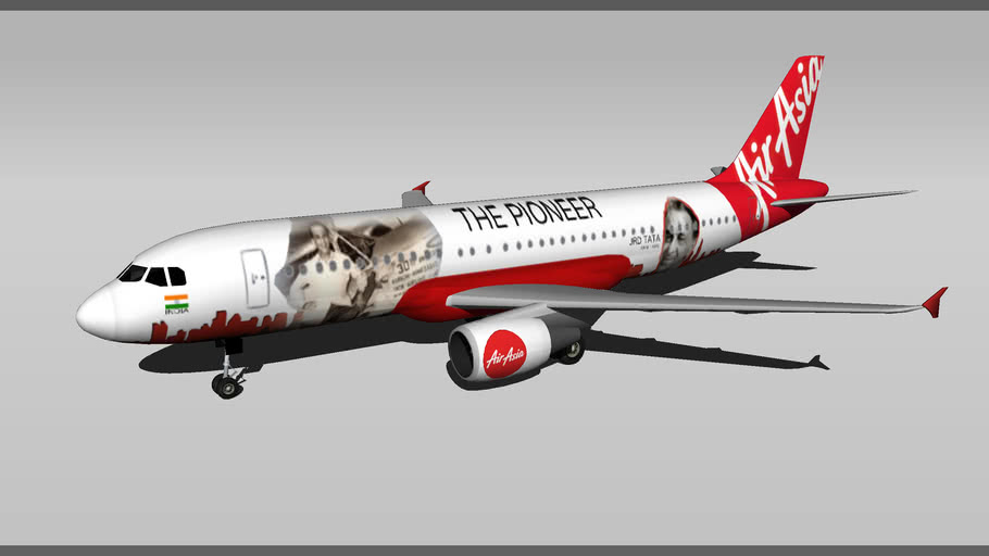 AirAsia India - Airbus A320-216 The Pioneer {Alta Aviation Special}