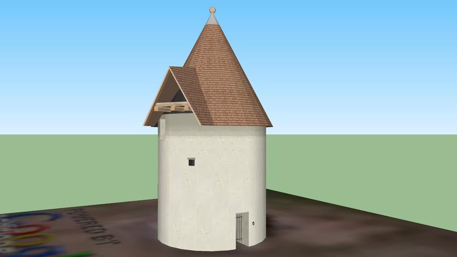 Moulin à vent rénové de La Rouquette. PORT-SAINTE-FOY-ET-PONCHAPT 24.