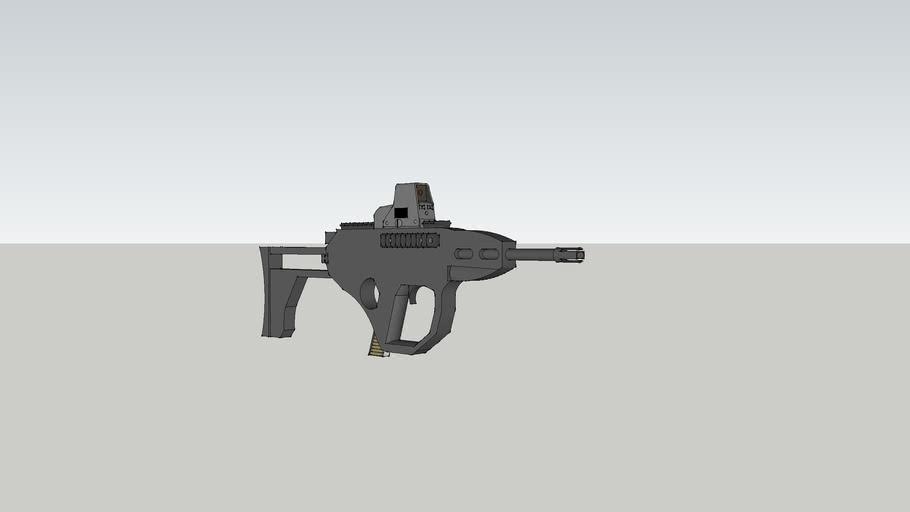 bulpup paintball gun