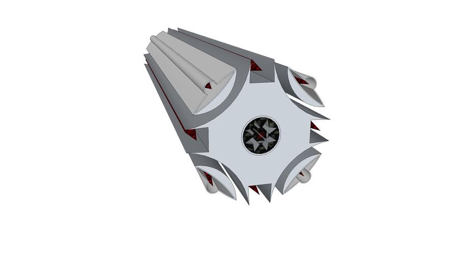 medium range missle ship