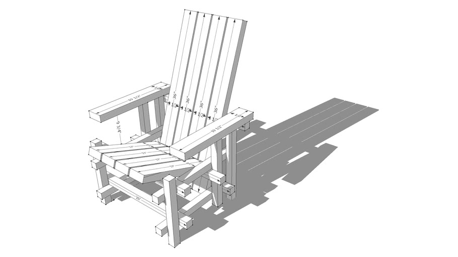 Modirondak Chair