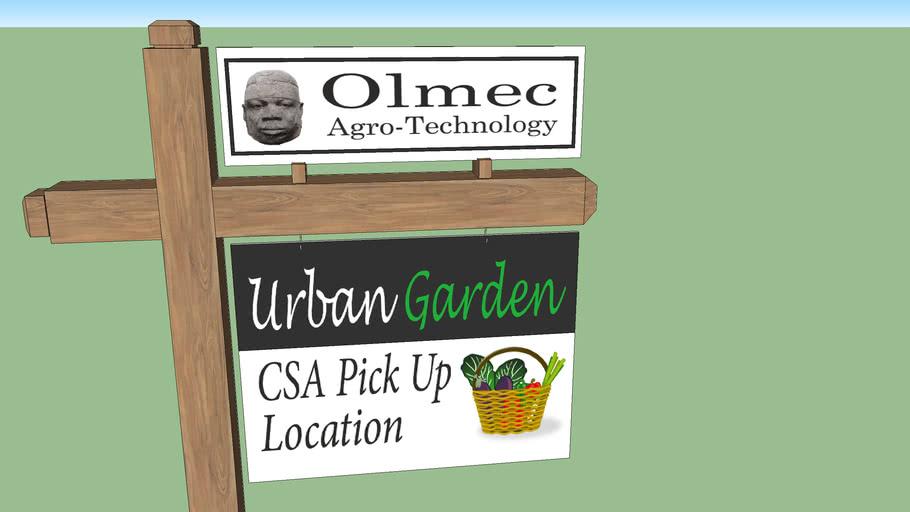 Olmec Agro Tech sinage