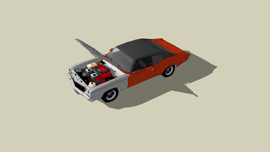 1972 buick GS   Matte372