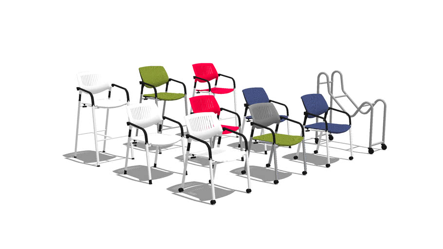 KART STACKING CHAIR - by coalesse
