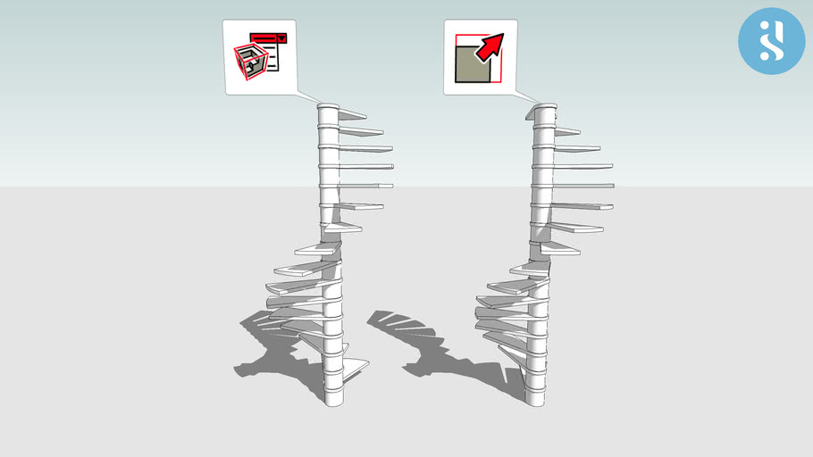 Dynamic Components 06 - Spiral staircase