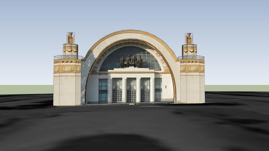 National Exhibition Complex of Ukraine - Building #7
