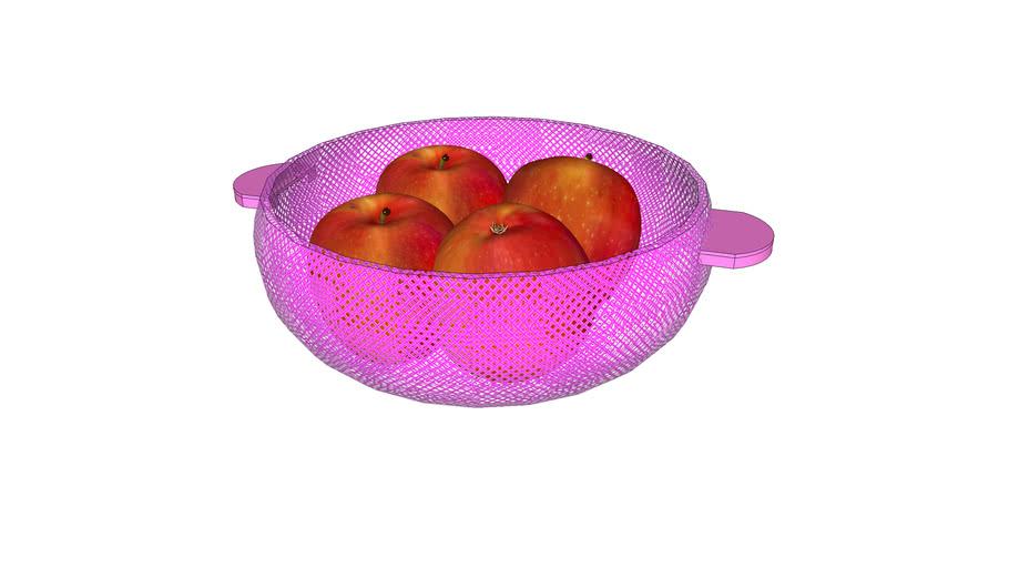 Fruit bowl (apple)