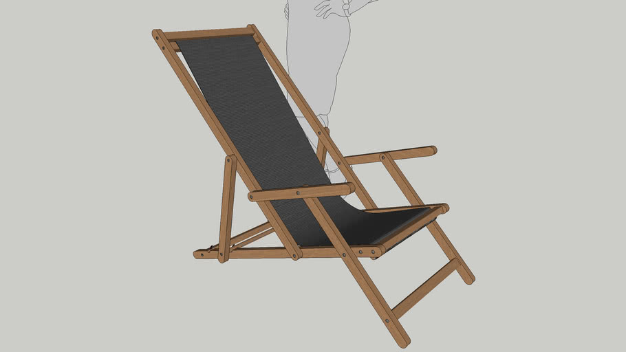 Sling Chair with Hand Rest ( Easy Chair )