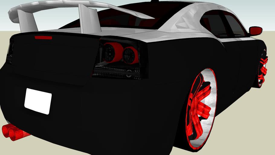 Dodge charger Silver/monte carlo version