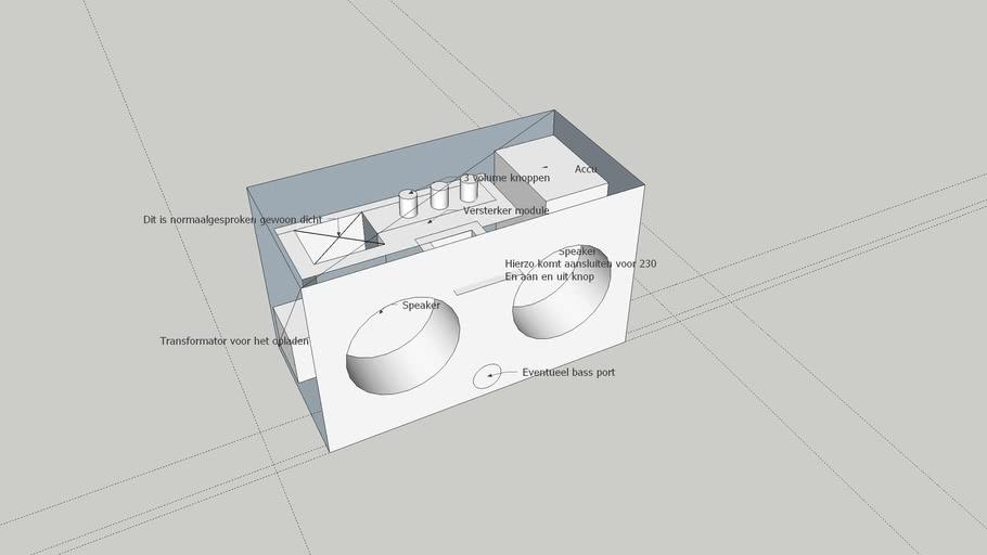 Munitie kist ontwerp
