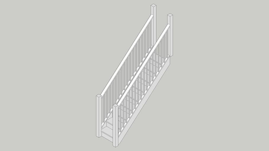 Straight Stairs Dynamic Component