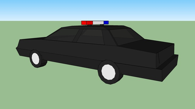 a dymanic police car