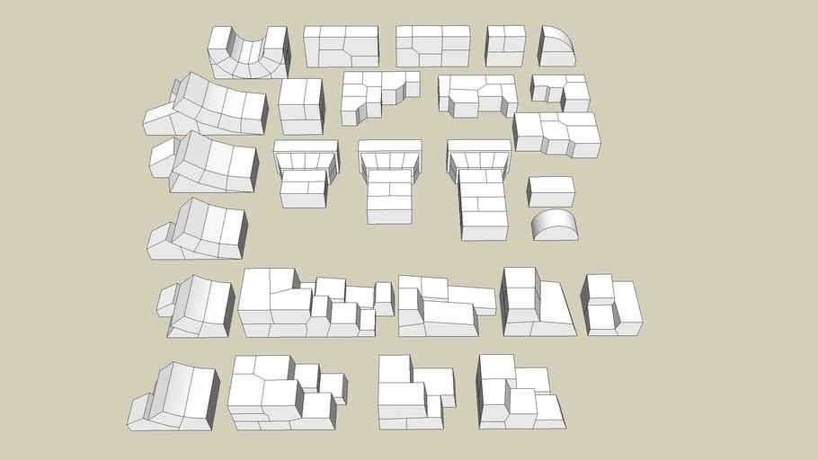 Hirst Arts Blocks Mold #075 - 1:1