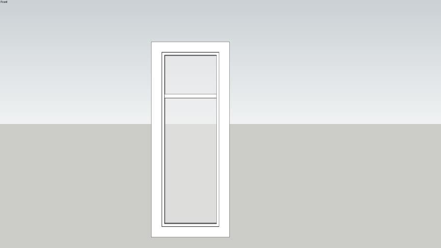 fenêtre d'atelier 1 vitre