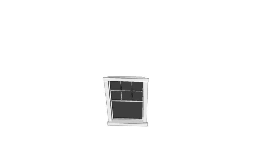 3050 Double Window