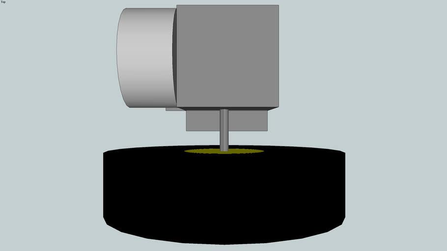 12V Solar Motor