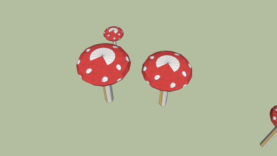 GCN Mario Circuit - Mushrooms
