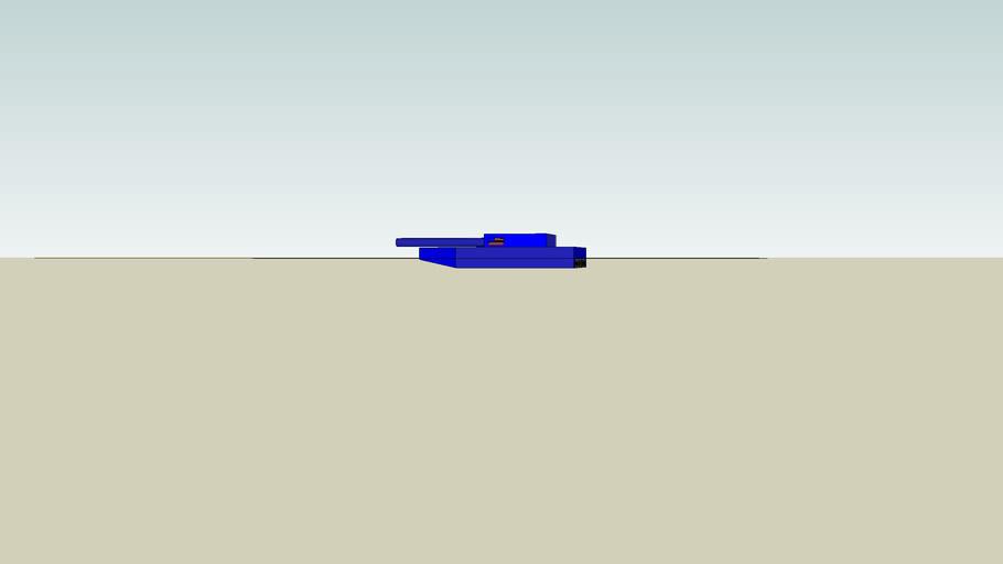 Boat Tank in water