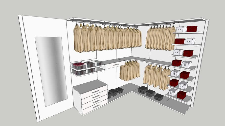 Cabina Armadio Cabina Armadio.Cabina Armadio Kico 3d Warehouse