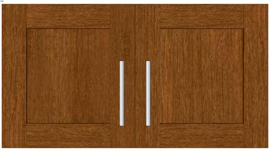 Wall Double Door 18H