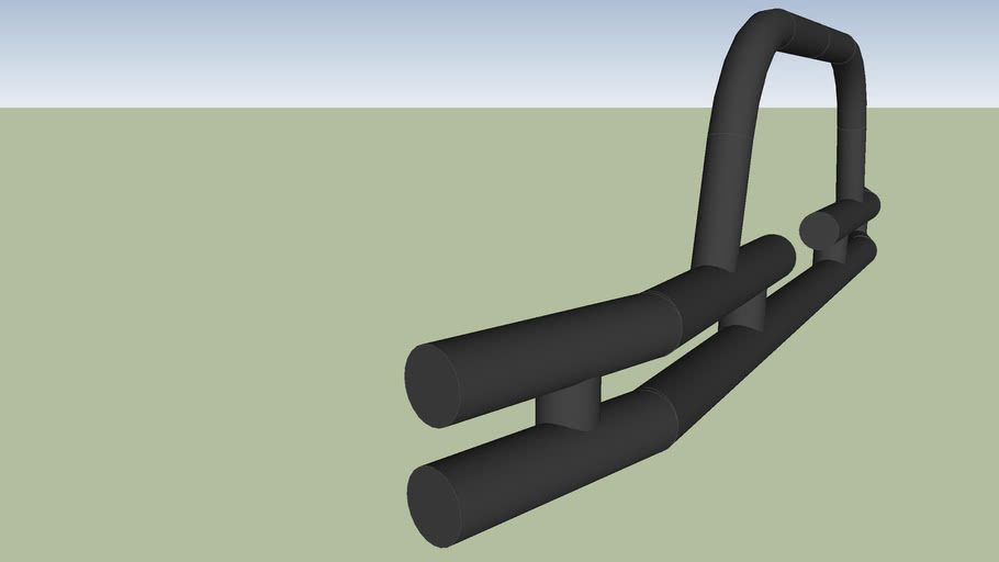 Tubular front bumper