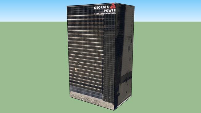 Geoegia Power Building in Atlanta, GA, USA