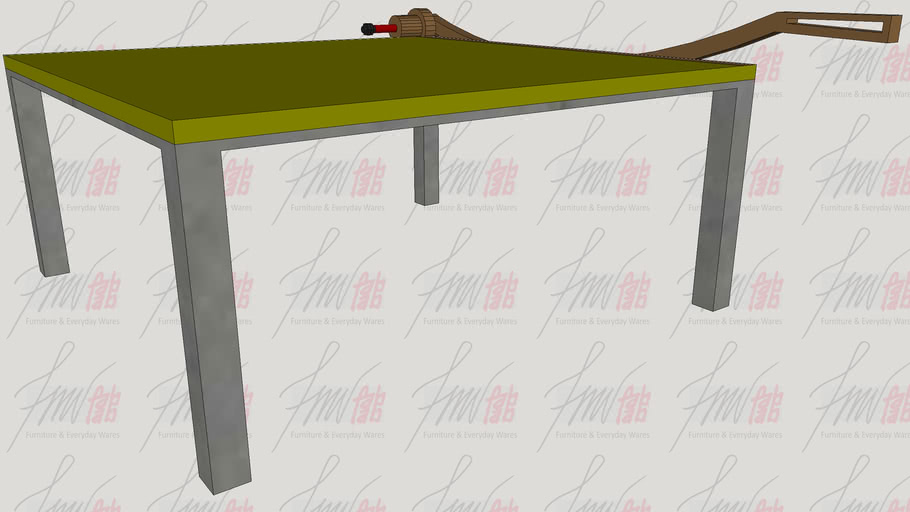 Paper Cutter Coffee Table