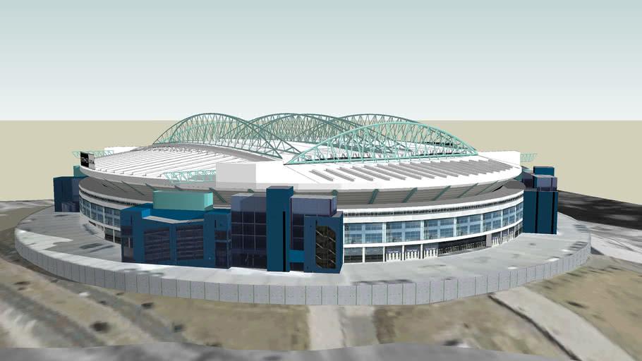 Etihad Stadium - roof closed