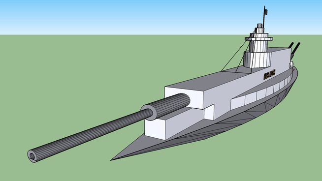 Battleship Bombarder