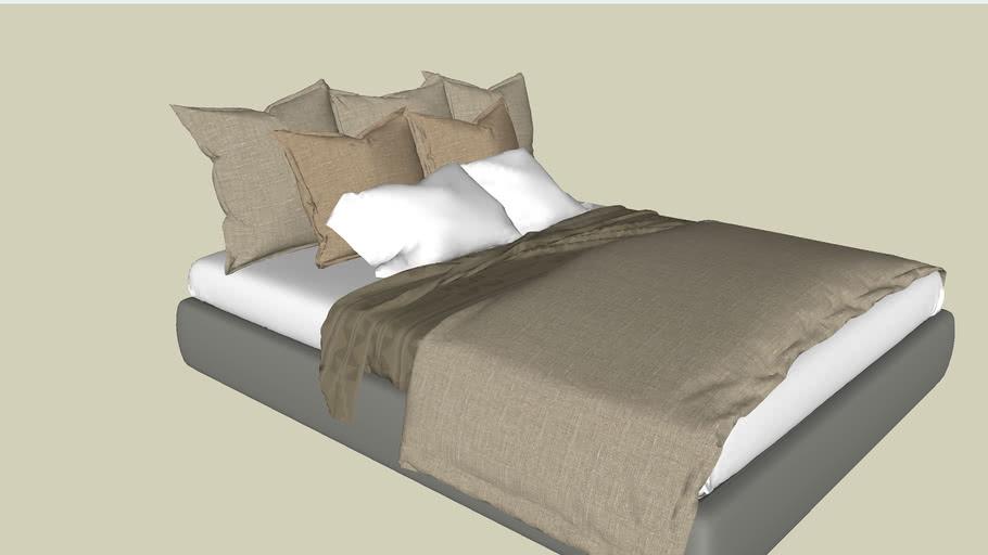 bedroom, bed, bed furniture, interior, kamar tidur, kasur, tempat tidur, pillow