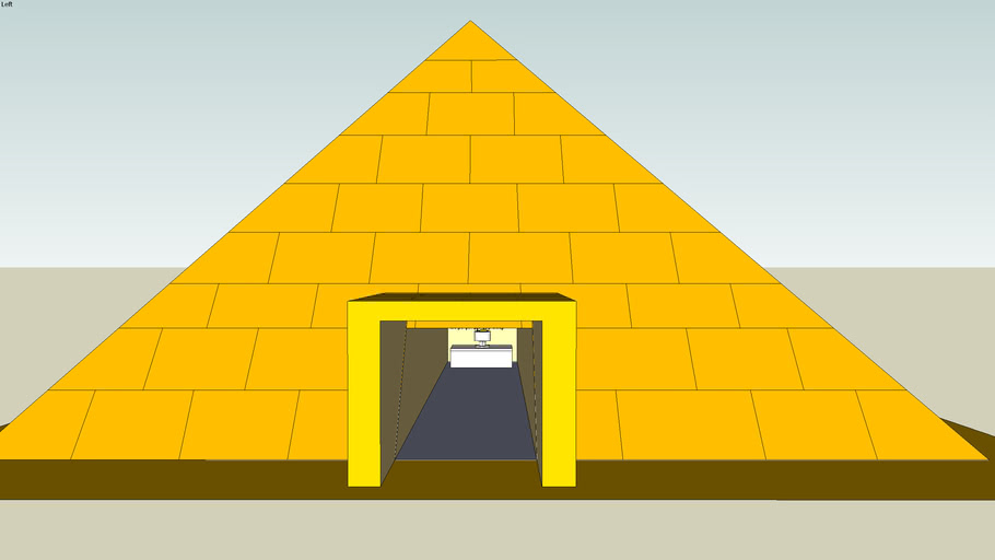 A Pyramid With A supprise In Side!!