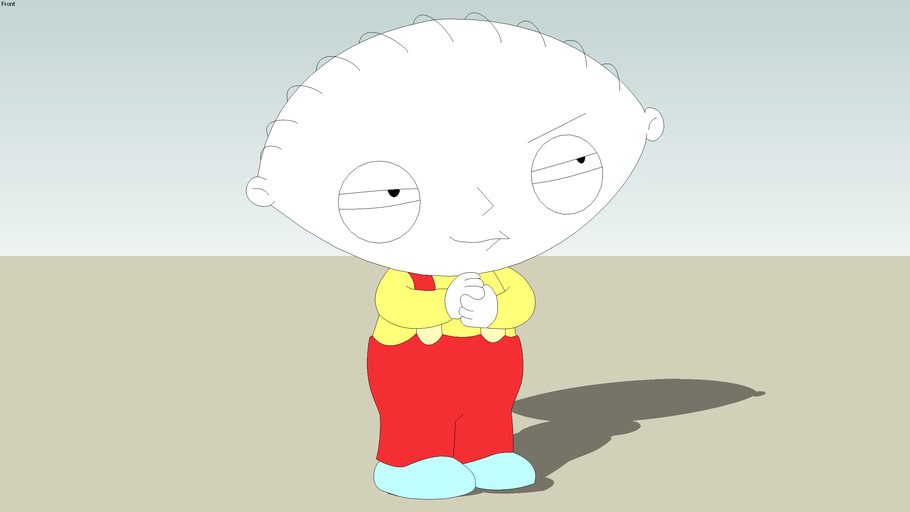Family Guy:  2D Stewie Griffin