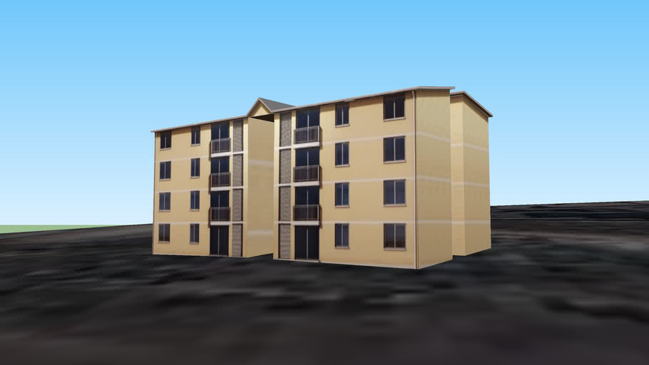 Modelo edificio Proyecto FSV Placilla